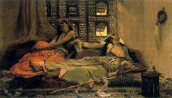 Harem | Pierre Francois Eugène Giraud | Oil Painting