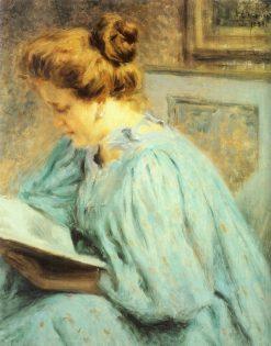 The Reader | Giorgio Kienerk | Oil Painting