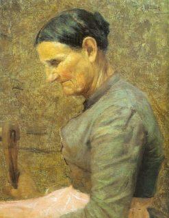 Grandmother | Giorgio Kienerk | Oil Painting