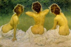 Giovinezza | Giorgio Kienerk | Oil Painting