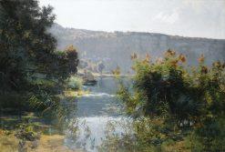 Paysage du Doubs | Emile Isenbart | Oil Painting