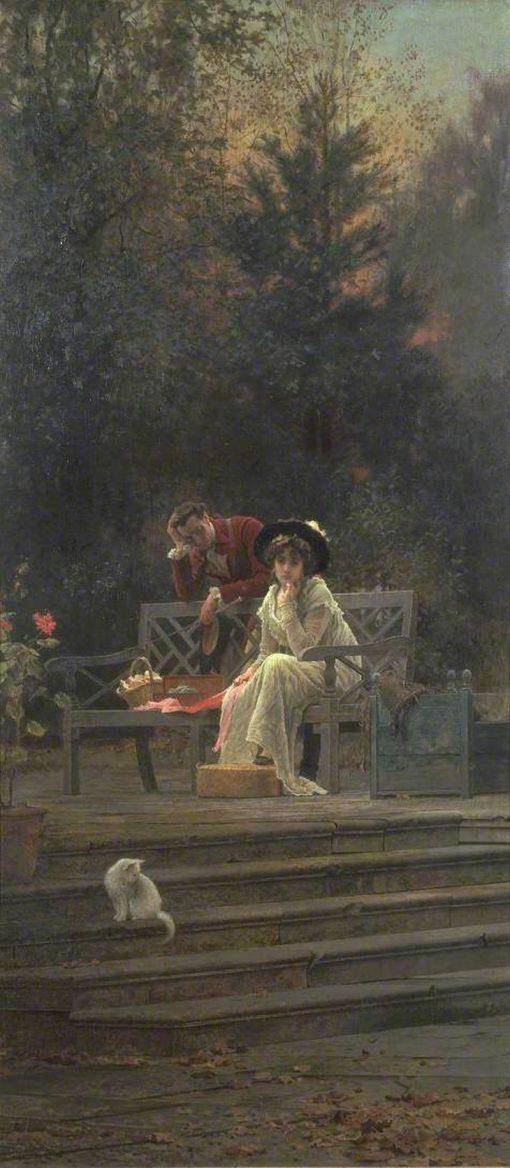 Il y en a toujours un autre   Marcus Stone   Oil Painting