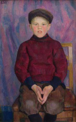 A Boy | Erik Werenskiold | Oil Painting