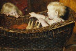 Children Playing | Erik Werenskiold | Oil Painting