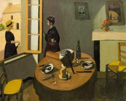 Dinner | Marius Borgeaud | Oil Painting