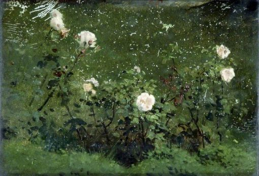 Roses | Marcus Stone | Oil Painting