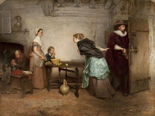 Royalists Seeking Safety | Marcus Stone | Oil Painting