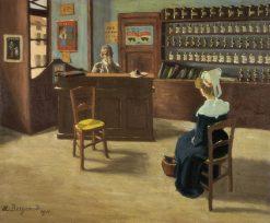 Consultation | Marius Borgeaud | Oil Painting