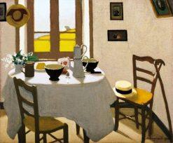 La chambre blanche | Marius Borgeaud | Oil Painting