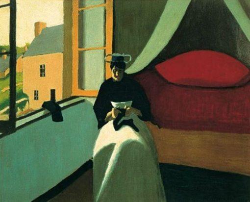 La repriseuse de bas 1 | Marius Borgeaud | Oil Painting
