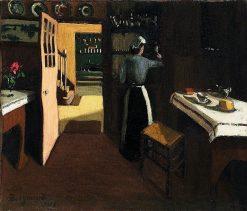 Le Fumoir | Marius Borgeaud | Oil Painting