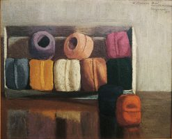 Balls of Yarn | Marius Borgeaud | Oil Painting