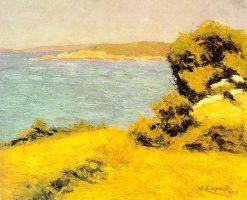 Coastal Landscape | Marius Borgeaud | Oil Painting