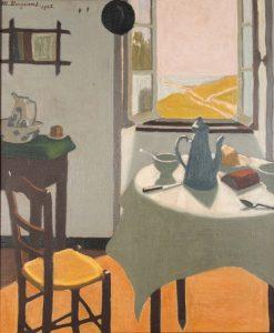 Le Petit dejeuner a Audierne | Marius Borgeaud | Oil Painting