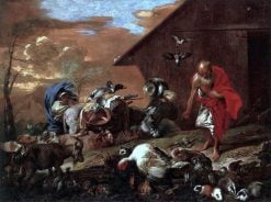 In Front of Noahs Ark | Giovanni Castiglione | Oil Painting