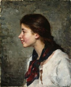 Elsa | Maria Wiik | Oil Painting
