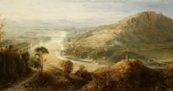 Perth from Moncreiffe Hill | William MacDuff | Oil Painting