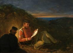 The Home Letter | William MacDuff | Oil Painting
