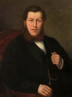 Portrait of a Fustian Cutter | James Aitken | Oil Painting