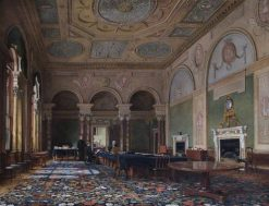 The Bank Parlour | James Digman Wingfield | Oil Painting