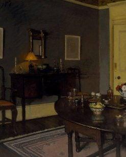 Chez-moi | Lindsay Bernard Hall | Oil Painting