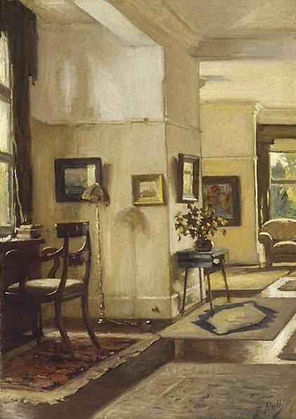 Interior | Lindsay Bernard Hall | Oil Painting