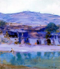 Landscape | Ramon Casas y Carbó | Oil Painting
