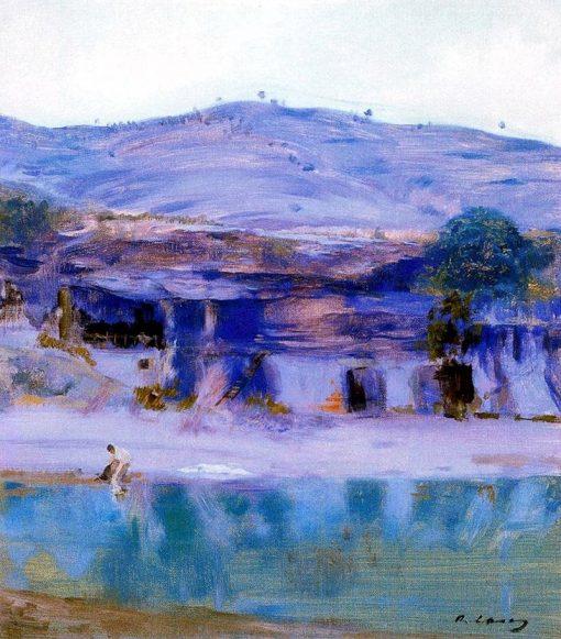 Landscape   Ramon Casas y Carbó   Oil Painting