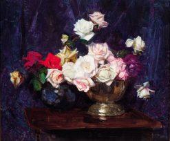 Roses | Sir Arthur Streeton | Oil Painting