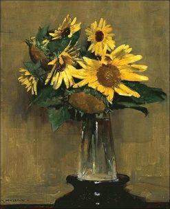 Sunflowers | Sir Arthur Streeton | Oil Painting