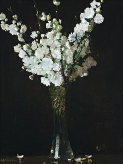 Apple Blossoms in a Vase | Sir Arthur Streeton | Oil Painting