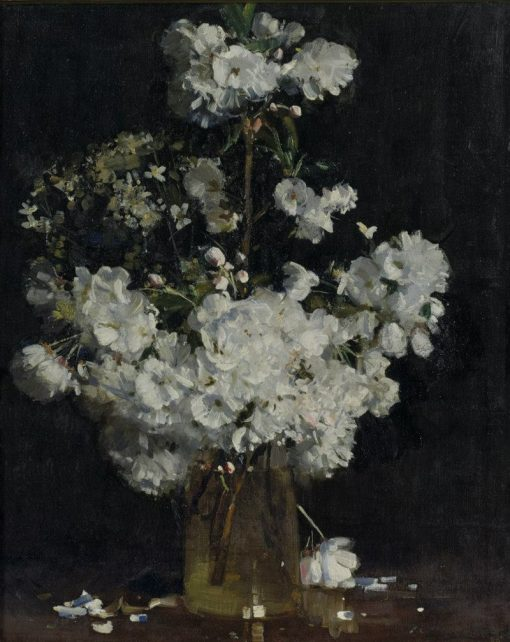 Cherry Blossoms | Sir Arthur Streeton | Oil Painting