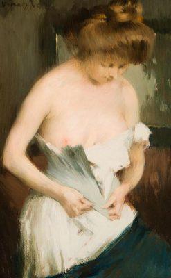 Toilette | János Vaszary | Oil Painting