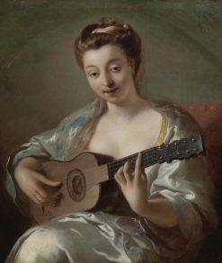The Guitar Player | Jean-Francois de Troy | Oil Painting