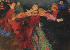 The Dance | Filipp Andreevich Maliavin | Oil Painting