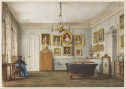 A Salon in a Residence of the Duke of Leuchtenberg | Otto Wagner | Oil Painting
