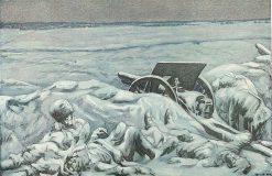 Snowed In | Hans Baluschek | Oil Painting
