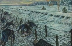 December | Hans Baluschek | Oil Painting