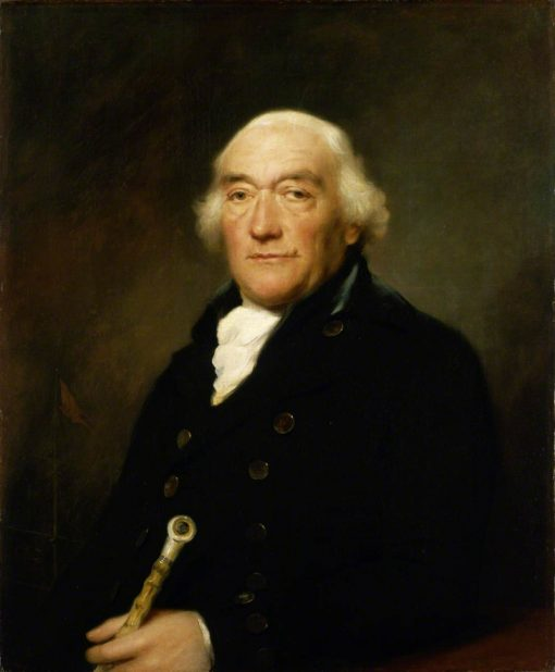 Captain William Locker | Lemuel Francis Abbott | Oil Painting