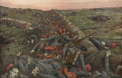 War | Hans Baluschek | Oil Painting