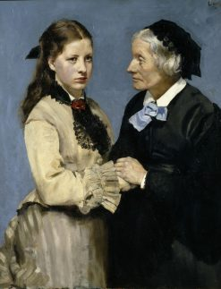 Farewell | Christian Krohg | Oil Painting