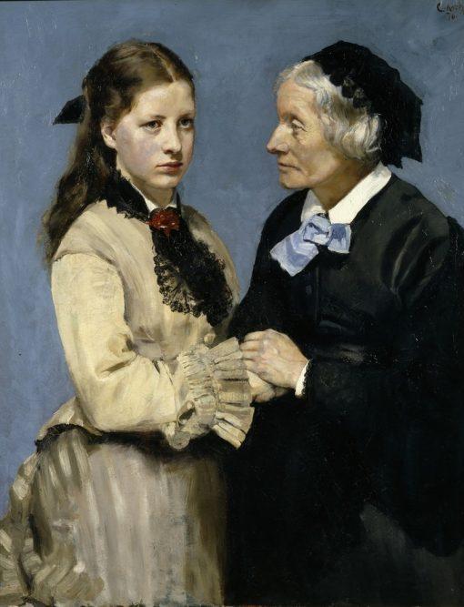 Farewell | Christian Krohg | Oil Painting