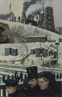 Wartime Winter | Hans Baluschek | Oil Painting