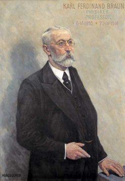 Karl Ferdinand Braun | Hans Baluschek | Oil Painting