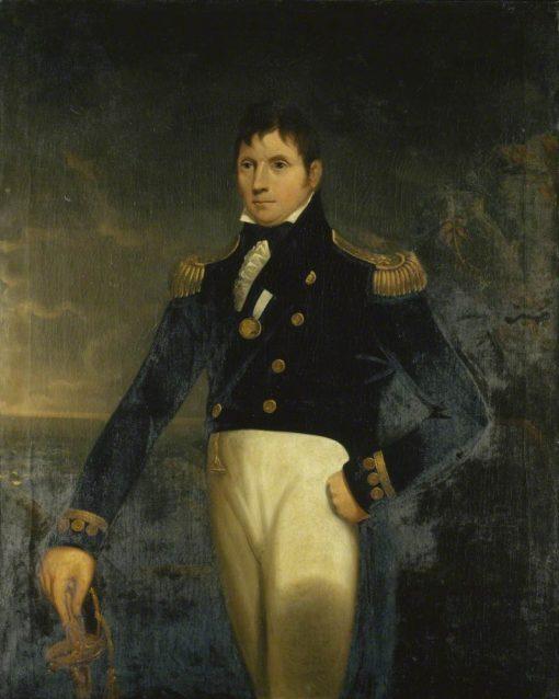 Rear-Admiral Sir Eliab Harvey | Lemuel Francis Abbott | Oil Painting