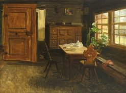 Interior | Georg Eduard Otto Saal | Oil Painting