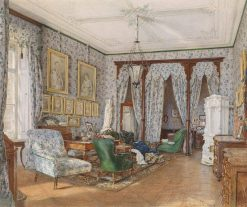 A Drawing Room   Franz von Alt   Oil Painting