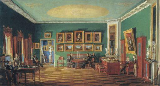 The Study of P.N. Zubov | Nikolai Podklyuchnikov | Oil Painting