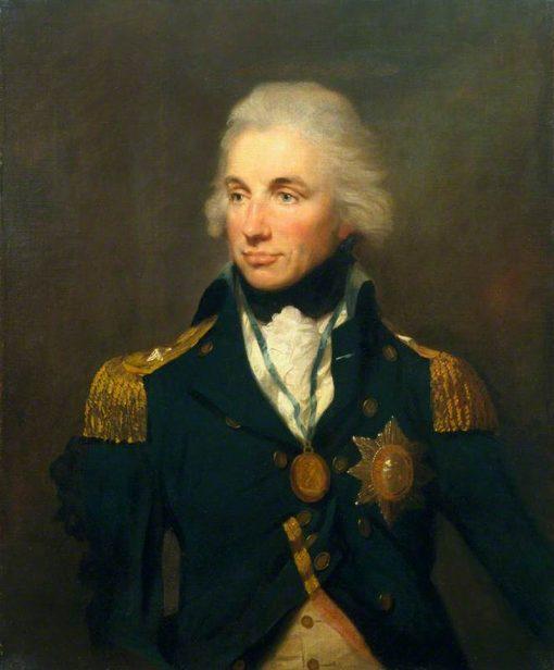 Horatio Nelson | Lemuel Francis Abbott | Oil Painting