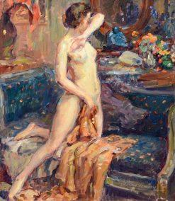 In Her Boudoir | Ferdinand-Georges Lemmers | Oil Painting